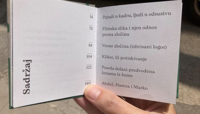 Multimedijalni institutobjavio novu knjigu Pavla Levija'Minijature - o politici filmske slike'povezana slika