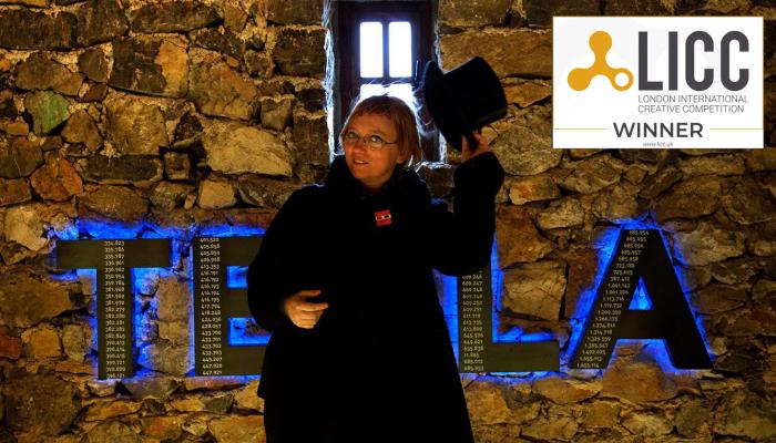 Heleni Bulaja Madunić još jedno priznanje za izložbu 'Nikola Tesla - Mind from the Future'povezana slika