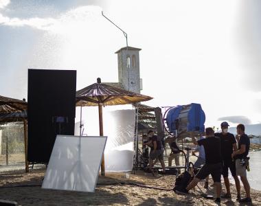 Brandon Cronenberg's <em>Infinity Pool</em> filming in Šibenik, Croatia