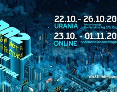 Počinje treće izdanje DA2 – Zagreb Design, Art & Architecture Film Festivala